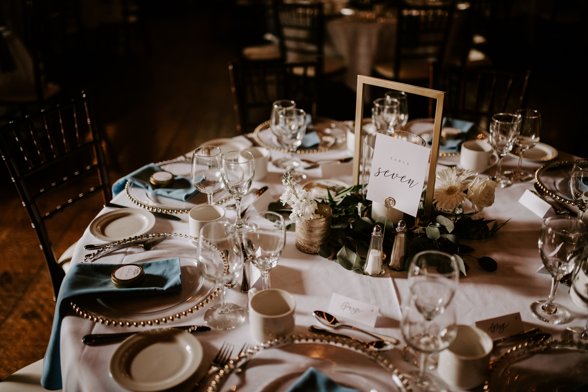 Belcroft Estates Wedding - reception decor