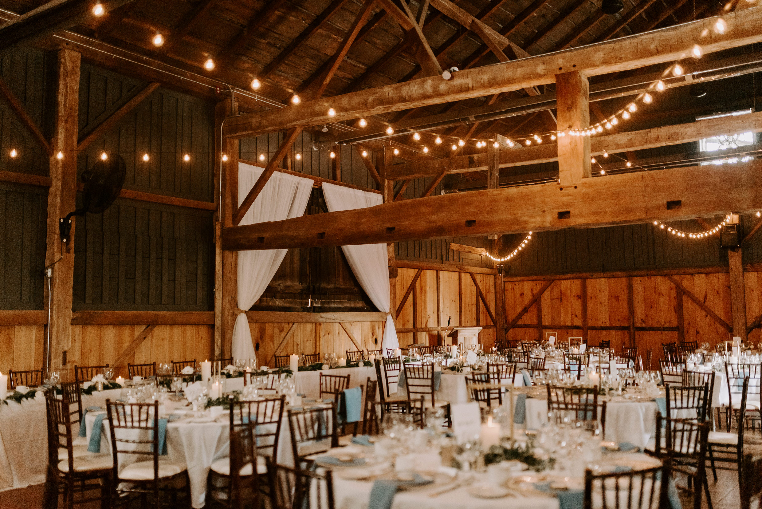 Belcroft Estates Wedding - reception venue