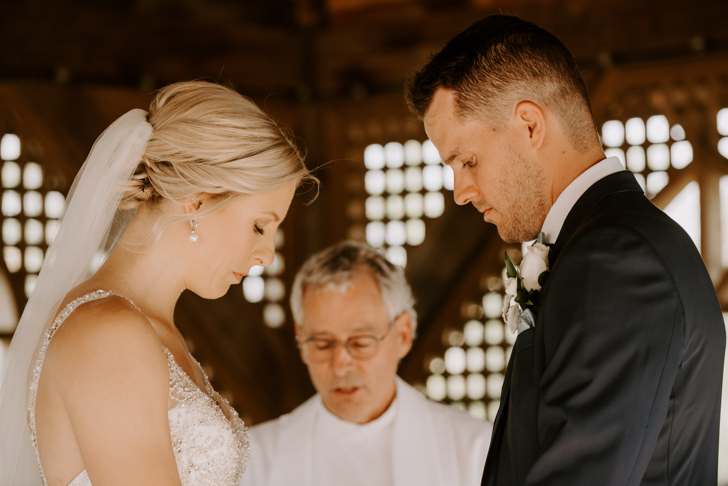 Belcroft Estates Wedding- prayer